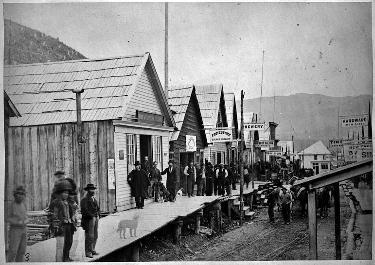Barkerville, c. 1870