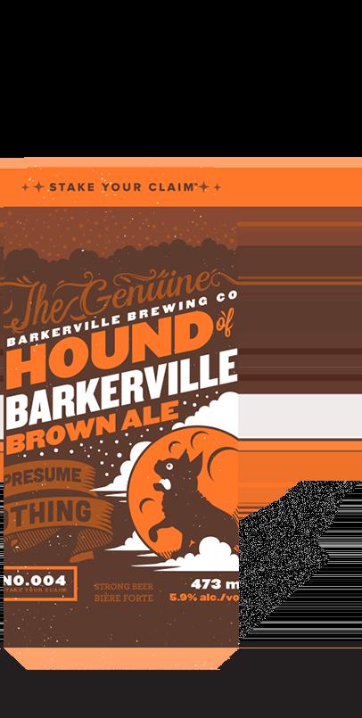 Hound of Barkerville Brown Ale